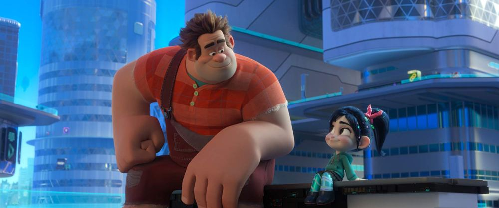 Movie still of Wreck-It Ralph and Venellope