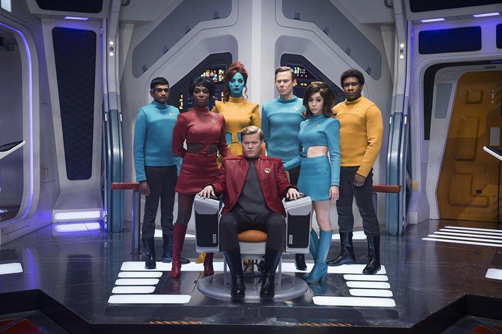 Still from Black Mirror episode 'USS Callister' starring Jesse Plemons.