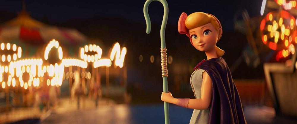 Movie still of Bo Peep from Toy Story 4.