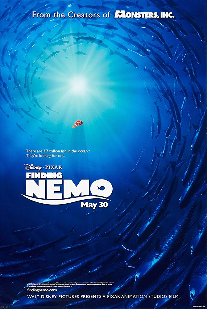 Poster for Finding Nemo (2003)