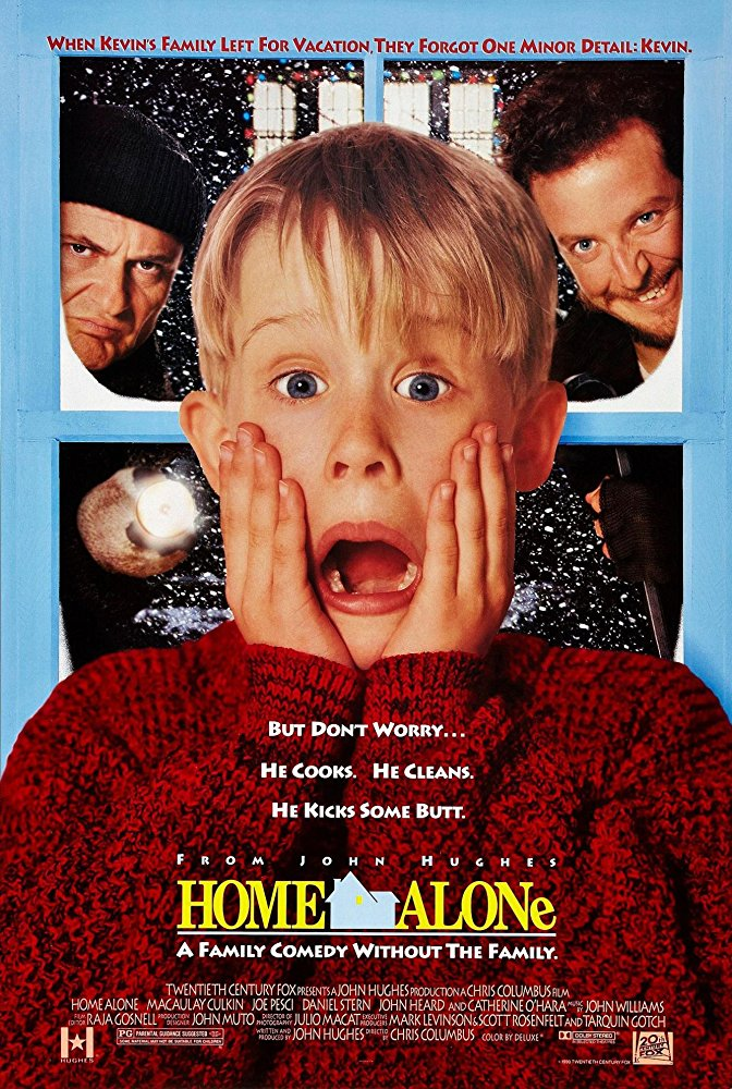 Movie poster for Home Alone
