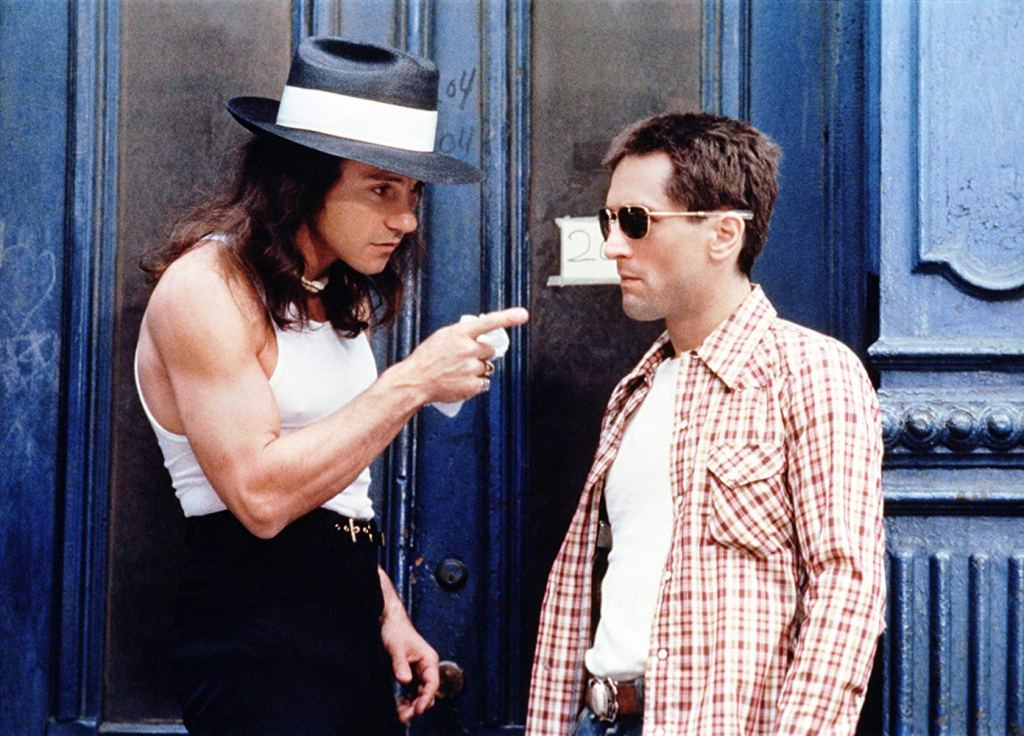 Harvey Keitel and Robert De Niro in Taxi Driver (1976)