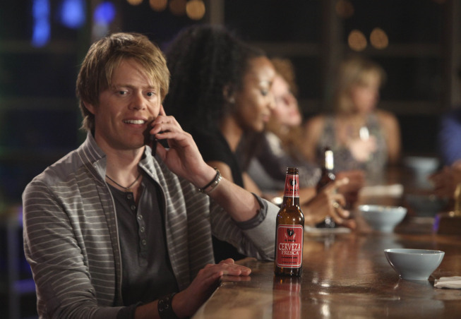 Kris Marshall as Colin in 'Love Actually'
