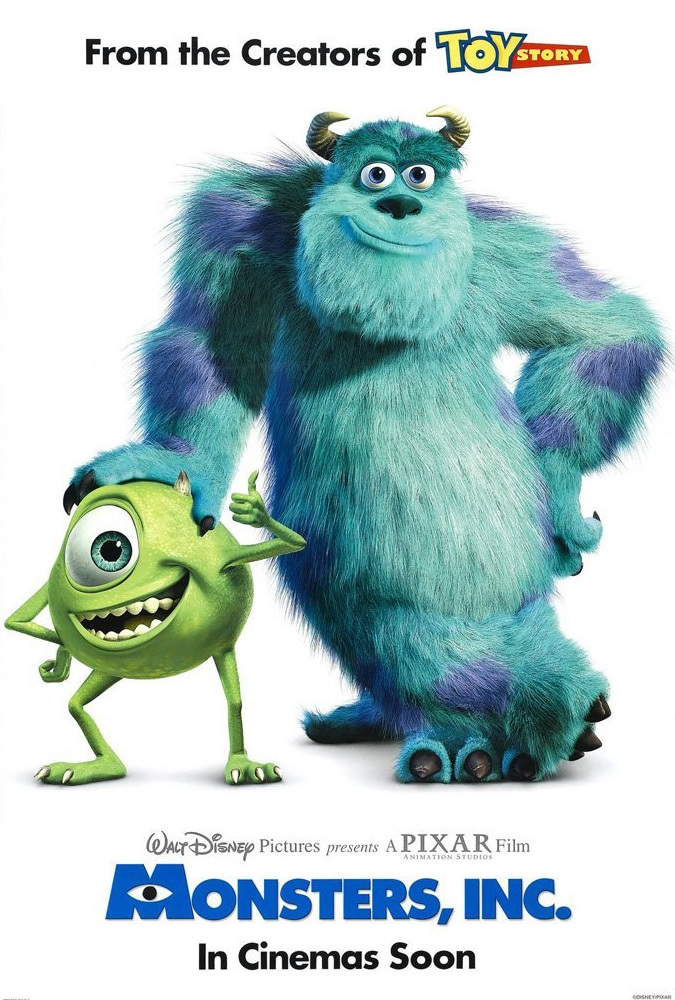 Poster for Monsters Inc (2001)
