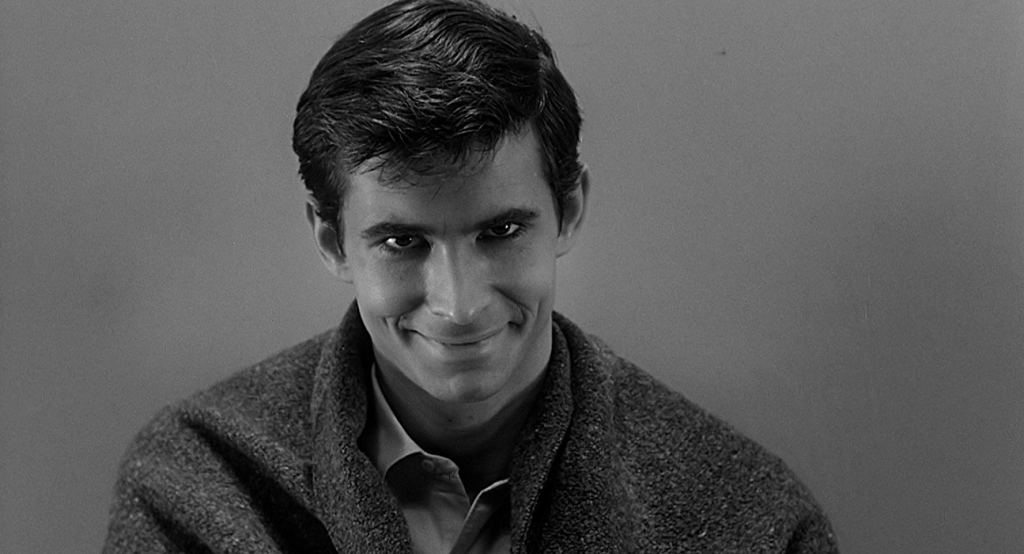 Anthony Perkins is Norman Bates in Psycho 1960