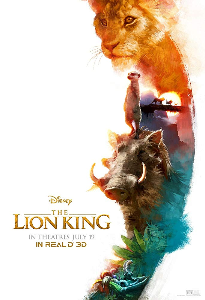 Film poster for The Lion King (2019)