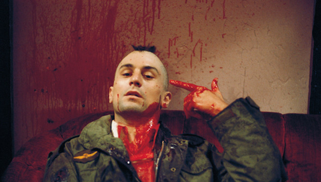 Robert De Niro as Travis Bickle in Taxi Driver (1976)