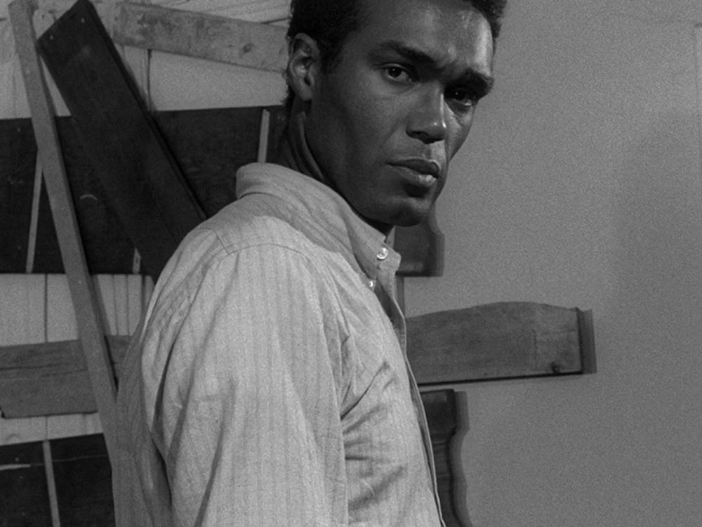 Duane Jones in the 1968 film 'Night of the Living Dead'