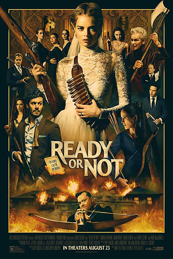 Movie Poster for 'Ready Or Not' (2019)