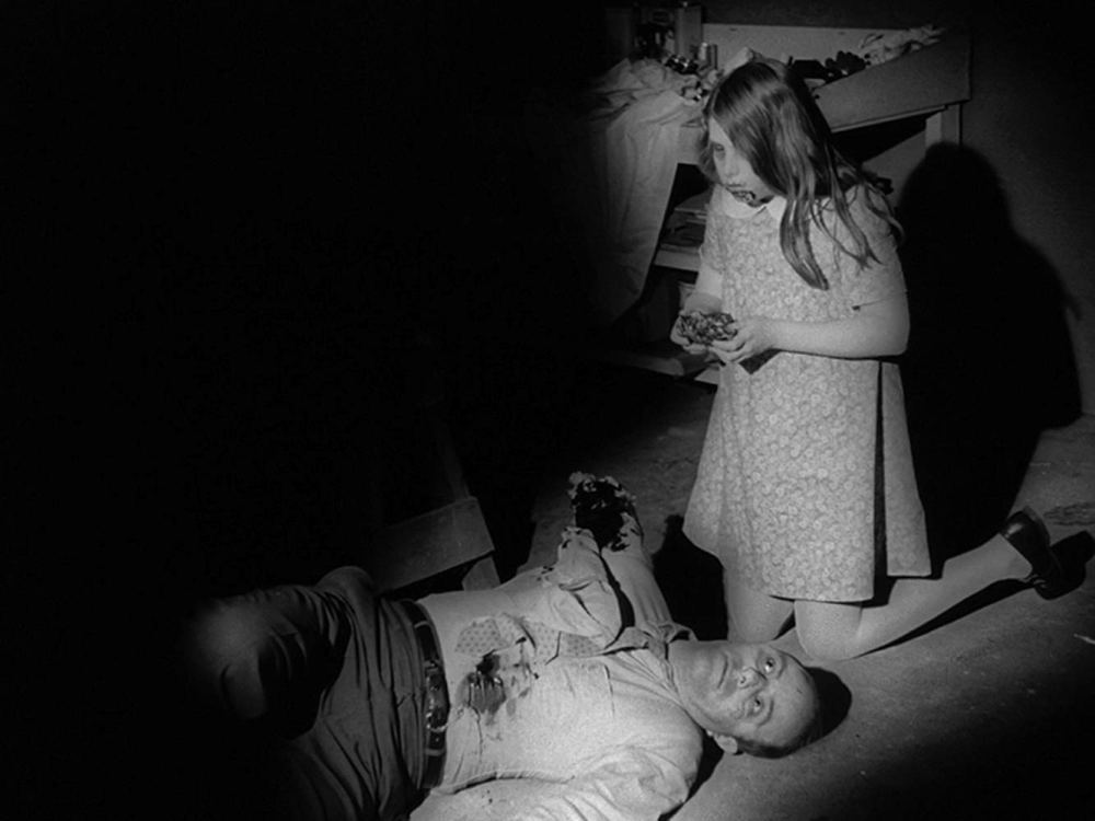 Karl Hardman in 'Night of the Living Dead' (1968).