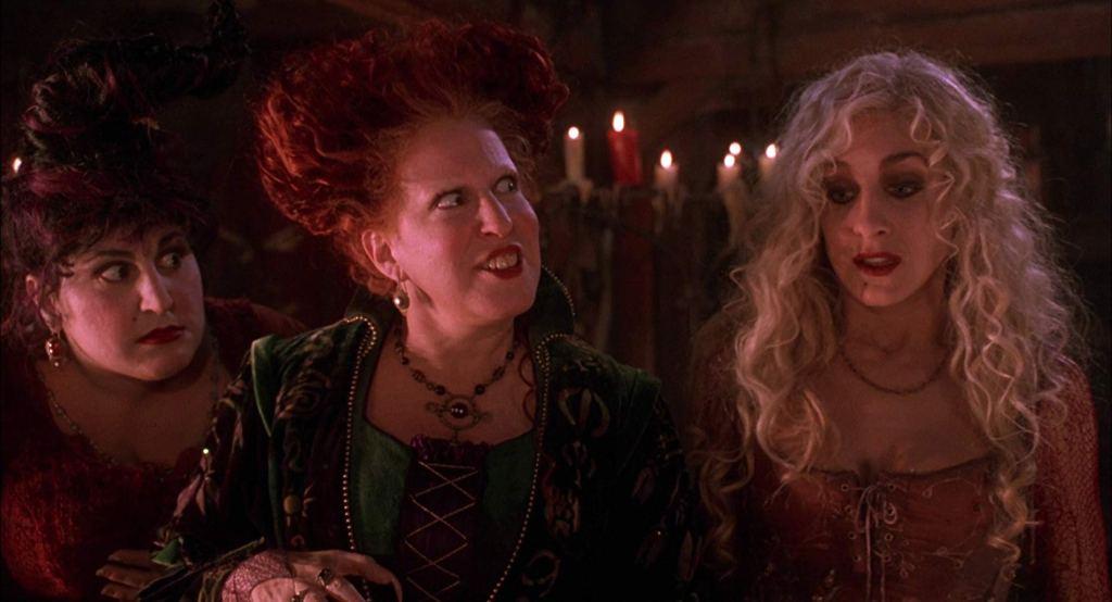 Kathy Najimy, Bette Midler and Sarah Jessica Parker in 'Hocus Pocus' (1993)