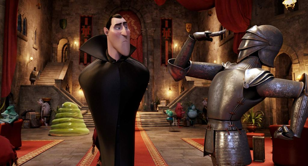 Adam Sandler is Dracula in 'Hotel Transylvania' (2012)
