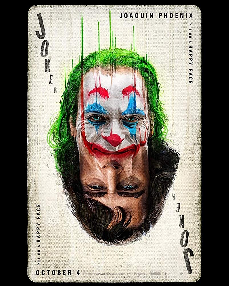 Movie poster for 'Joker' (2019)