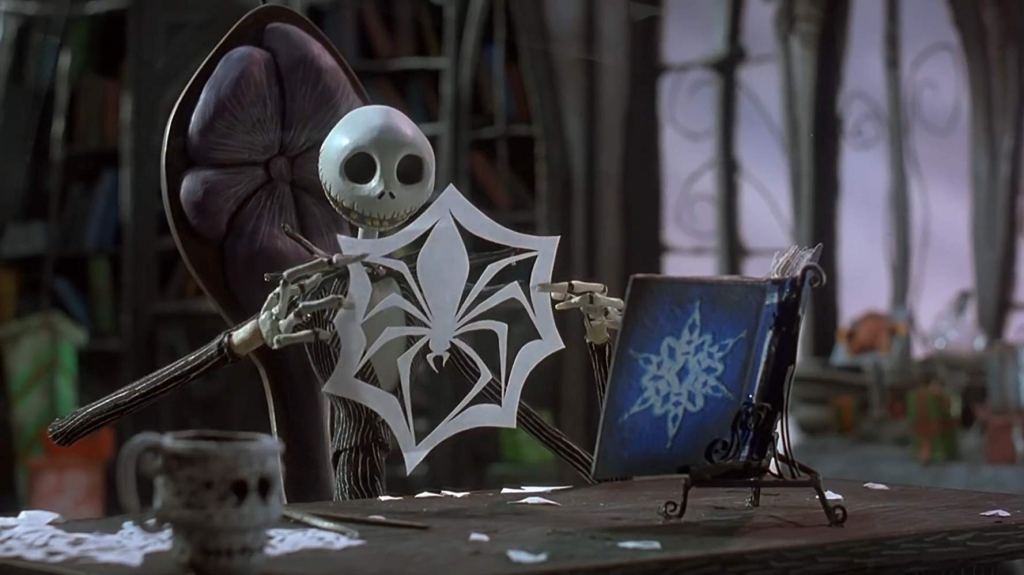 Jack Skellington from 'The Nightmare Before Christmas' (1993)