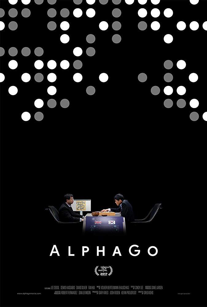 Poster for the 2017 documentary 'AlphaGo'