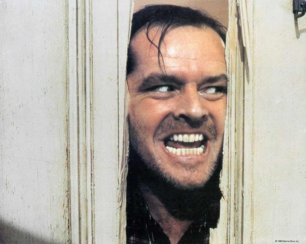 Here's Johnny! - A still from the 1980 movie 'The Shining'