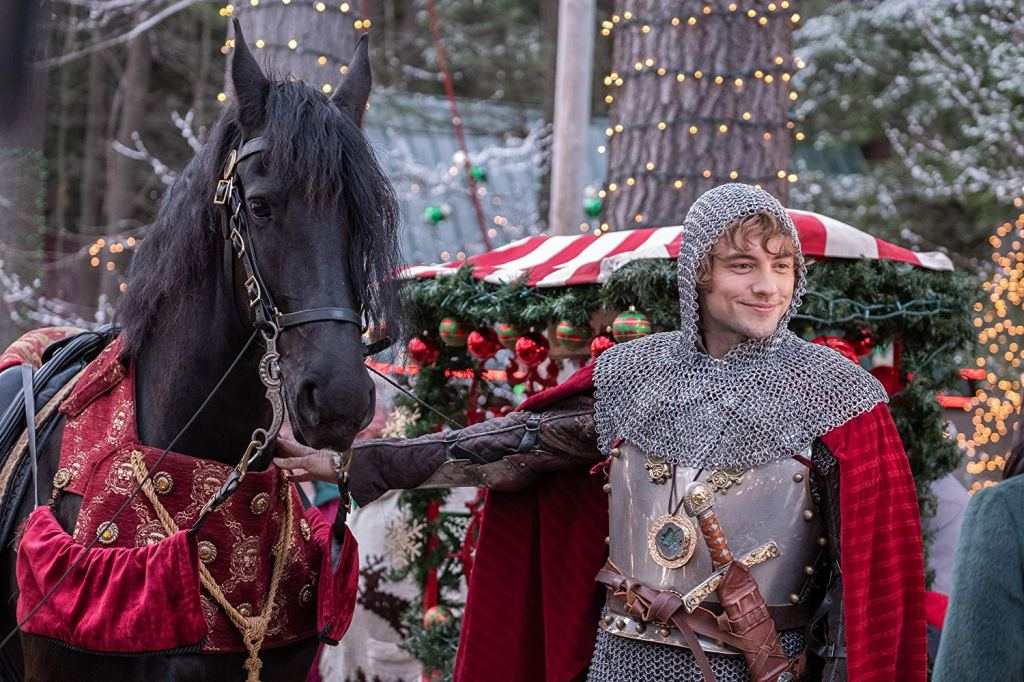 Josh Whitehouse as Sir Cole in the 2019 Netflix movie 'The Knight Before Christmas'