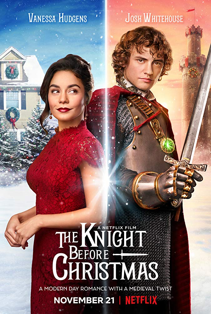 Poster for the 2019 Netflix movie 'The Knight Before Christmas'.