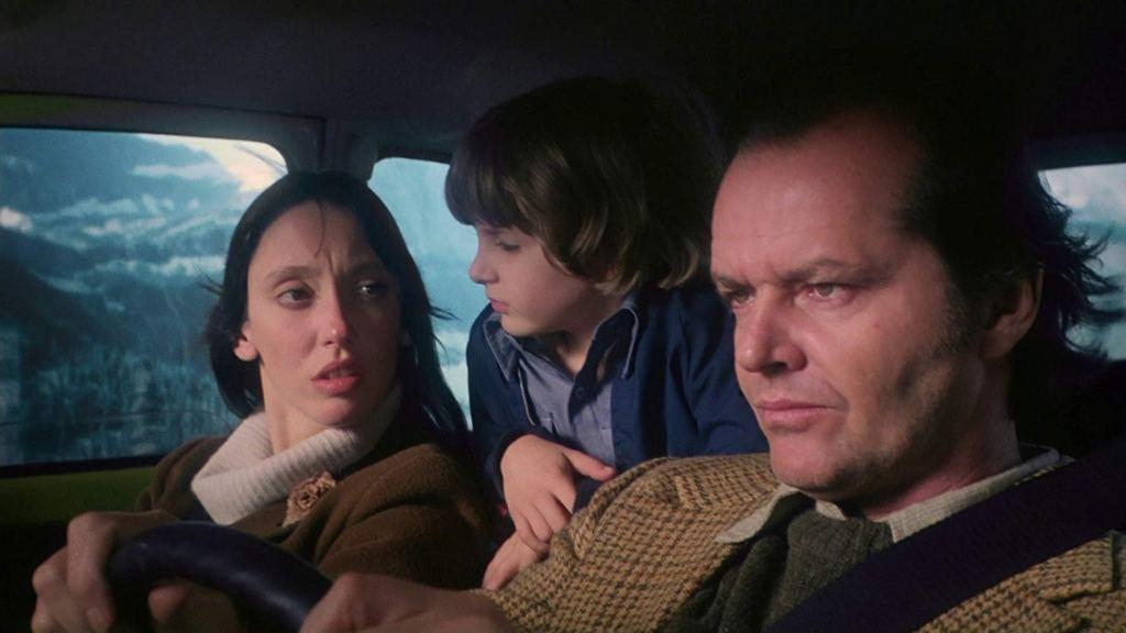 Shelley Duvall, Danny Lloyd and Jack Nicholson in 'The Shining' (1980)