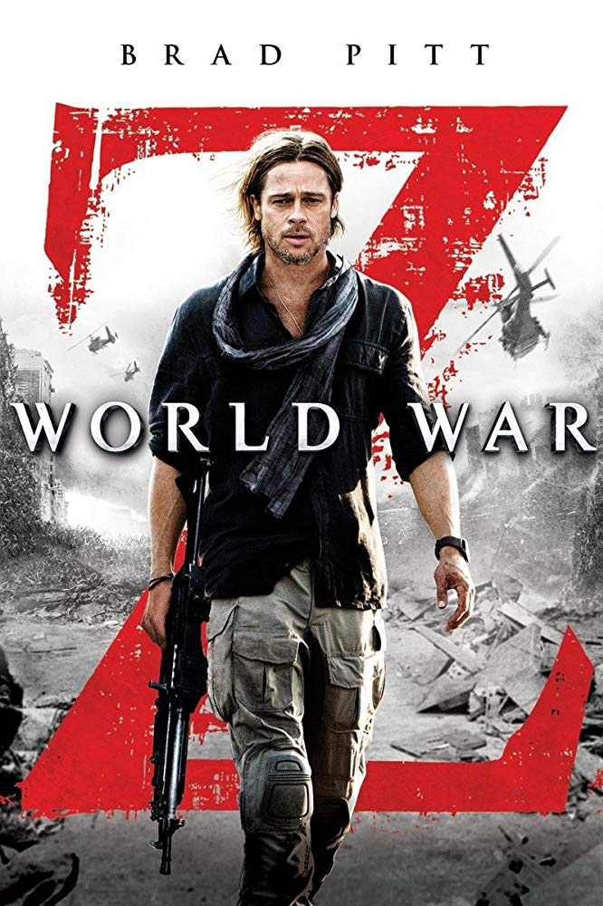 Movie poster for the 2013 film 'World War Z'