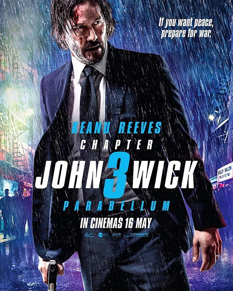 Poster for John Wick: Parabellum (2019)