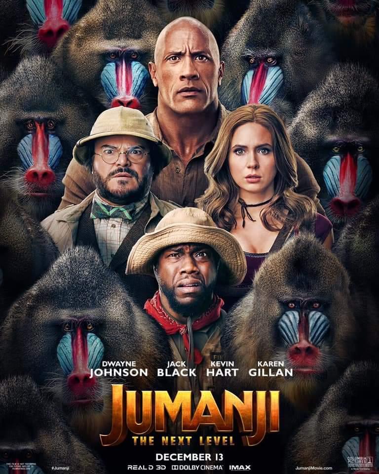 Poster for 'Jumanji: The Next Level' (2019)
