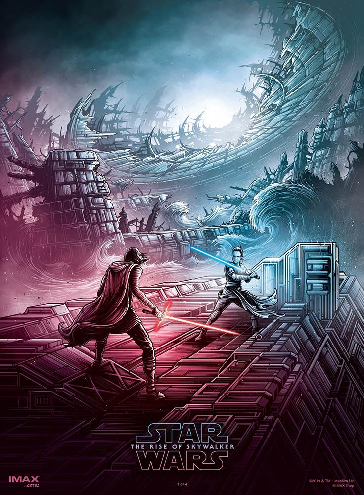 Poster for Star Wars: Episode IX The Rise of Skywalker (2019)
