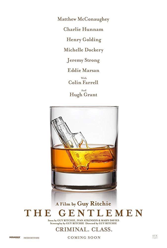 Poster for Guy Ritchie's film 'The Gentlemen'.